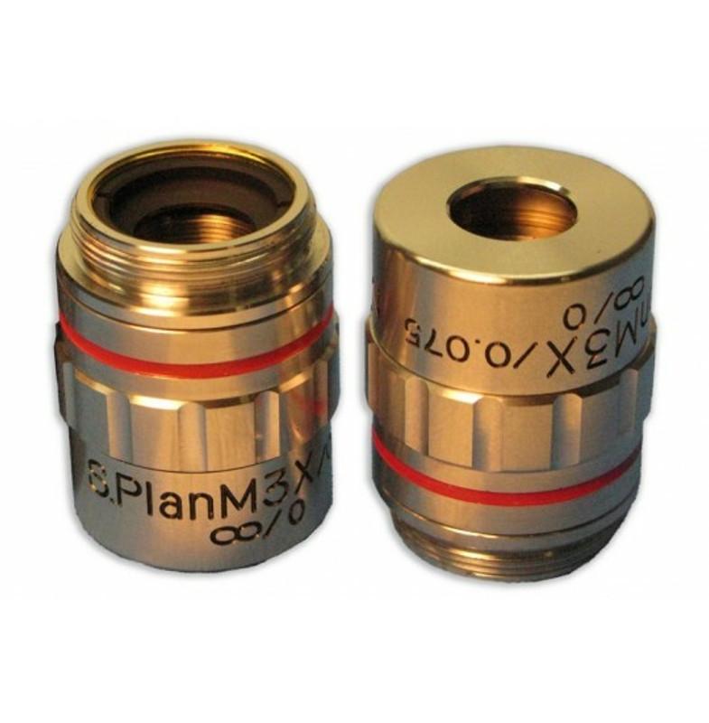 Meiji MA390 3x S Plan Brightfield Metallurgical Objective