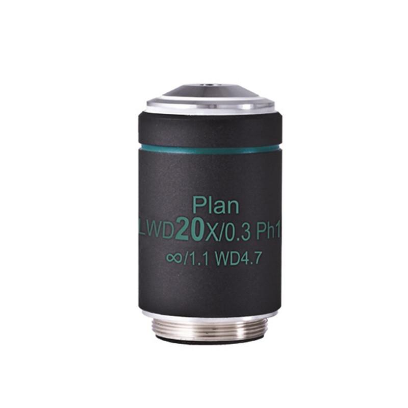 Motic AE CCIS Plan Achromat Phase LWD PL PH1 20x Objective