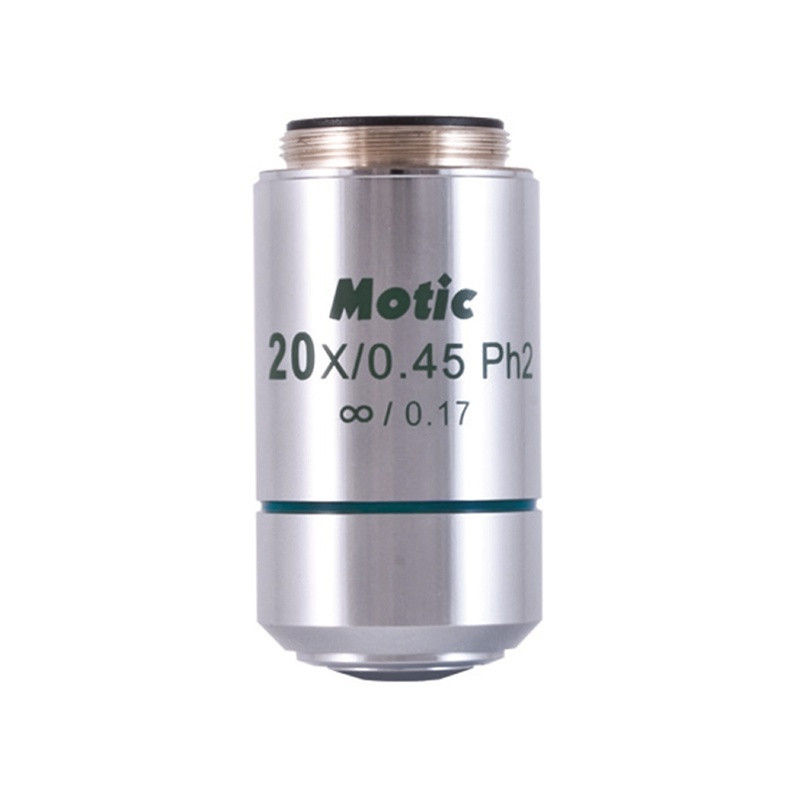 Motic CCIS EC-H Plan Phase 20x Objective