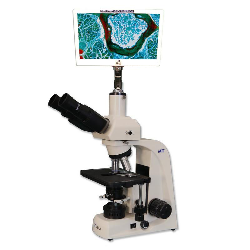 Meiji MT5300D Mohs Dermatology LCD Microscope Package