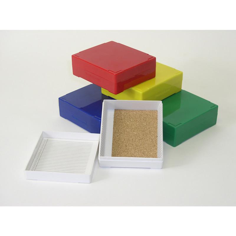 25 Microscope Slides Storage Box