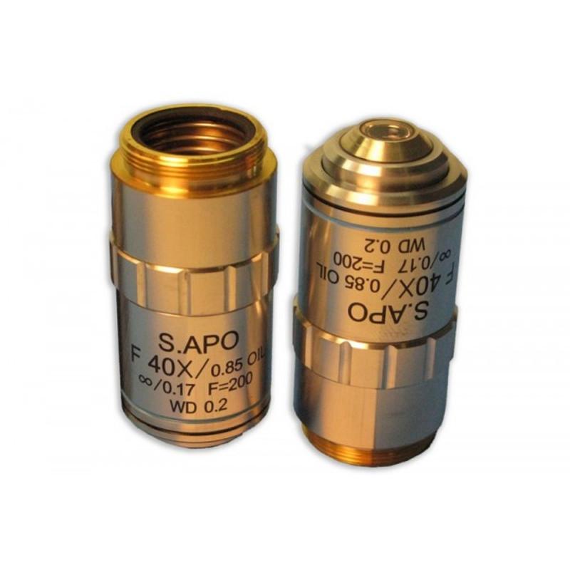 Meiji MA847 F40x Oil Plan Semi Apochromat Objective for MT6000C Series