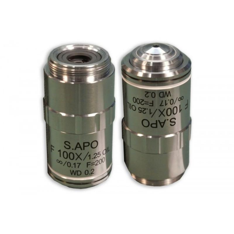Meiji MA848 F100x Oil Plan Semi Apochromat Objective for MT6000C Series