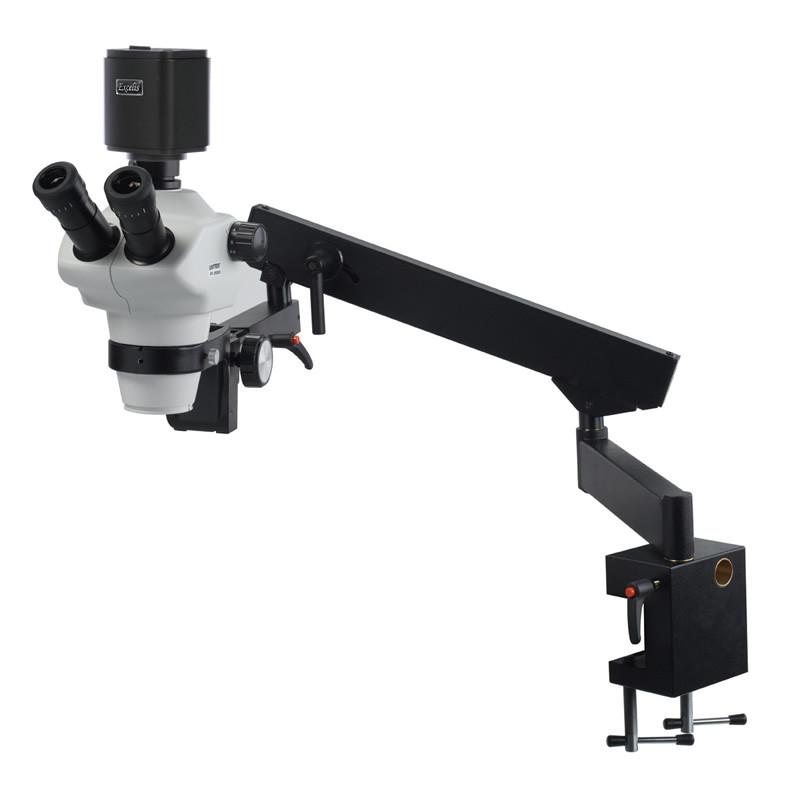 UNITRON Z850 Zoom Stereo Digital Microscope Package on Flex Arm Stand