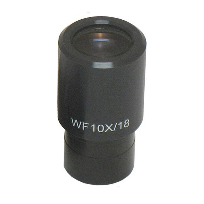 ACCU-SCOPE 02-3104 WF10x/18.5 Eyepiece with Reticle Holder, Single