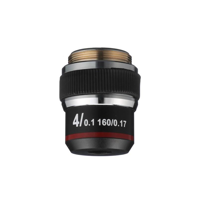 ACCU-SCOPE 02-3195 4x DIN Achromat Objective