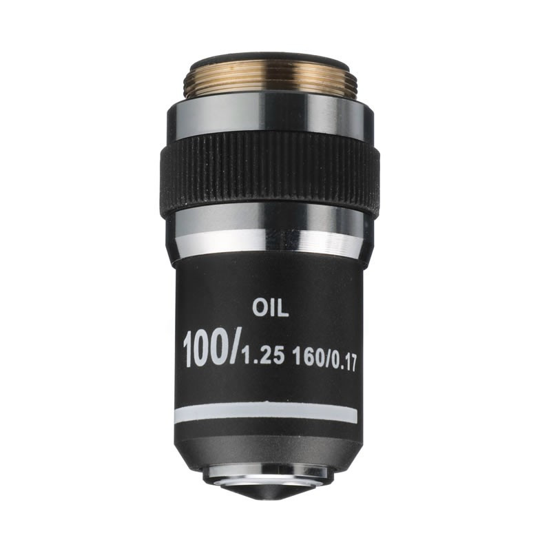 ACCU-SCOPE 02-3200 100xR Oil DIN Achromat Objective