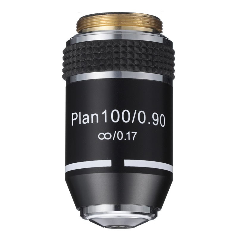 ACCU-SCOPE 12-3176D-PL 100xR Dry Infinity Plan Objective