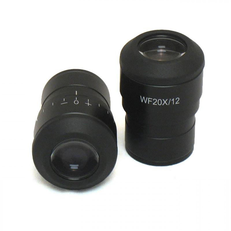 ACCU-SCOPE 131-10-20 WF20x/12.5mm Focusing Eyepiece, Single