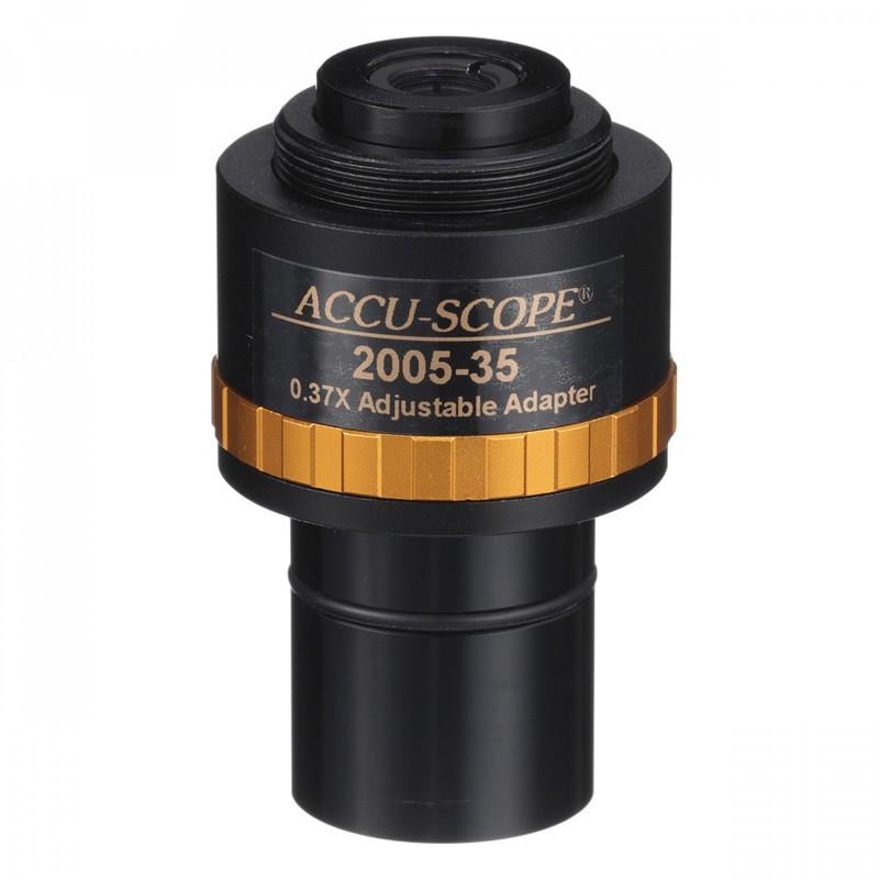 ACCU-SCOPE 2005-35 0.35x Focusable C-Mount Adapter