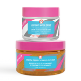 Hello FAB Coconut Water Cream and Hello FAB Ginger and Turmeric Vitamin C Jelly Mask