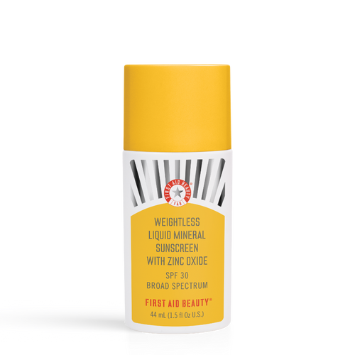 Weightless Liquid Mineral Sunscreen with Zinc Oxide SPF 30