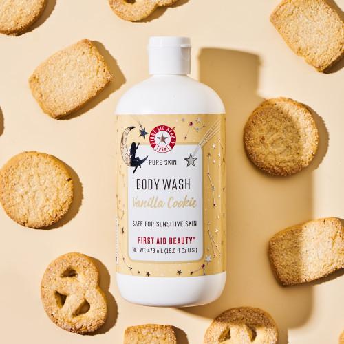 Pure Skin Body Wash Vanilla Cookie Limited Edition