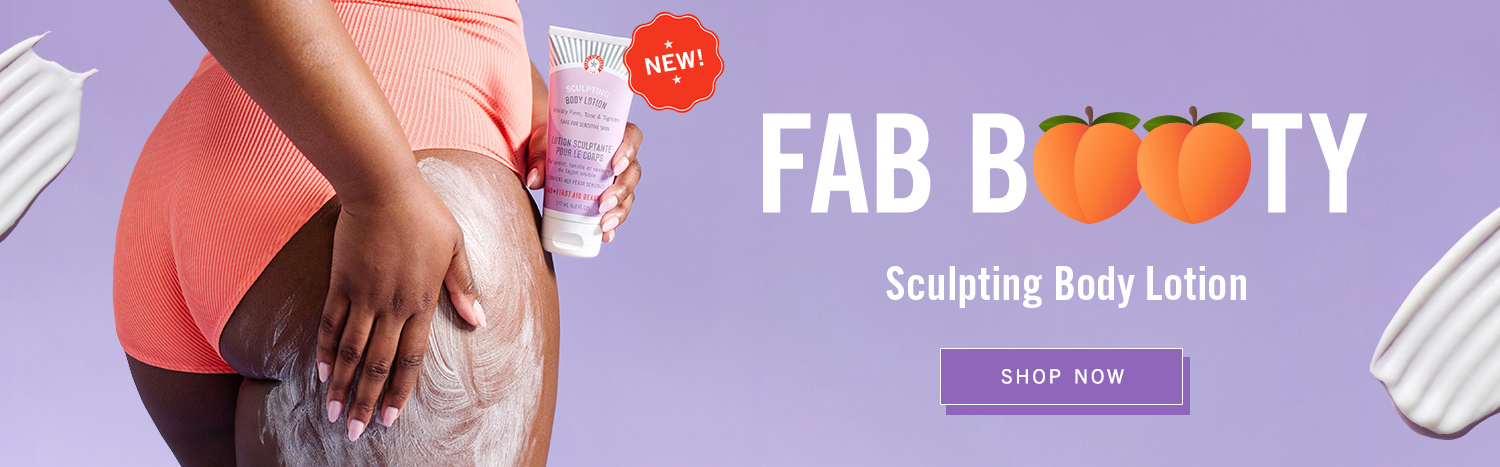 Our new Sculpting Body Lotion is a firming and hydrating cream that leaves skin visibly tightened and toned