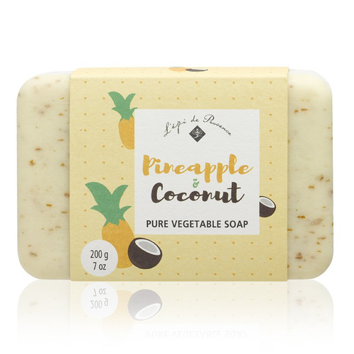 Pineapple Coconut Triple Milled European Soap