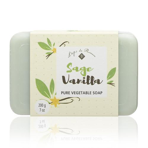 Sage Vanilla Triple Milled European Soap