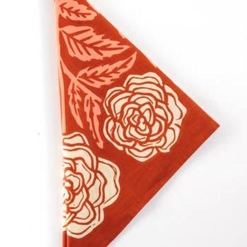 Roses Premium Cotton Handmade Bandana