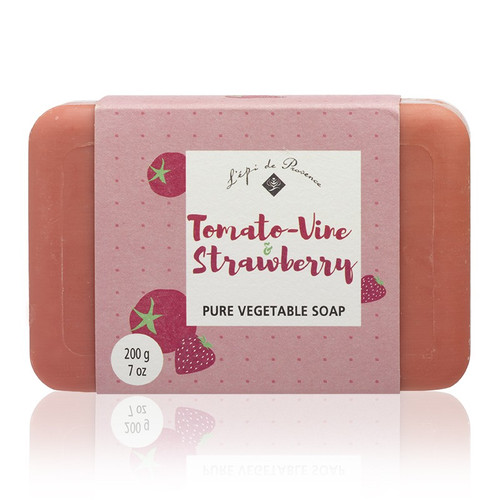 Tomato Vine Strawberry Triple Milled European Soap