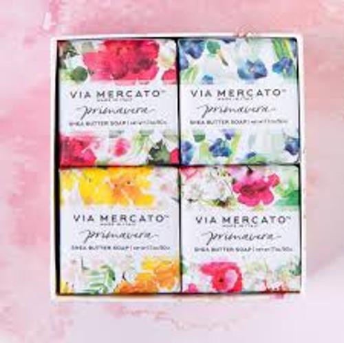 50g Soap Spring Flowers Gift Set Via Mercato