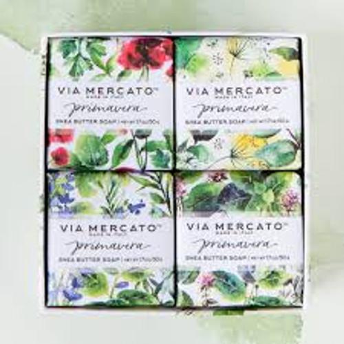 50g Soap Fresh Herbs Gift Set Via Mercato