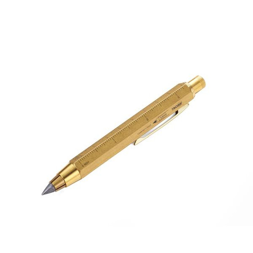 Carpenters Pencil Antique Brass