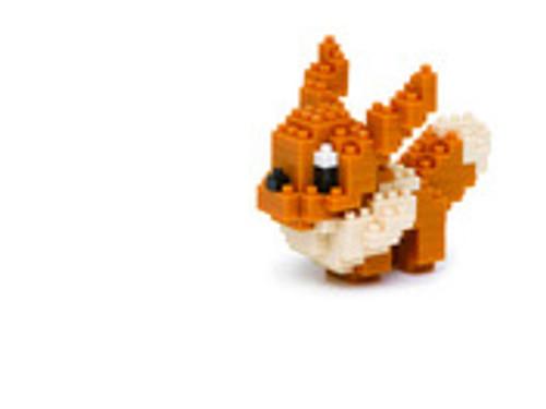 Eevee Pokemon Nanoblock