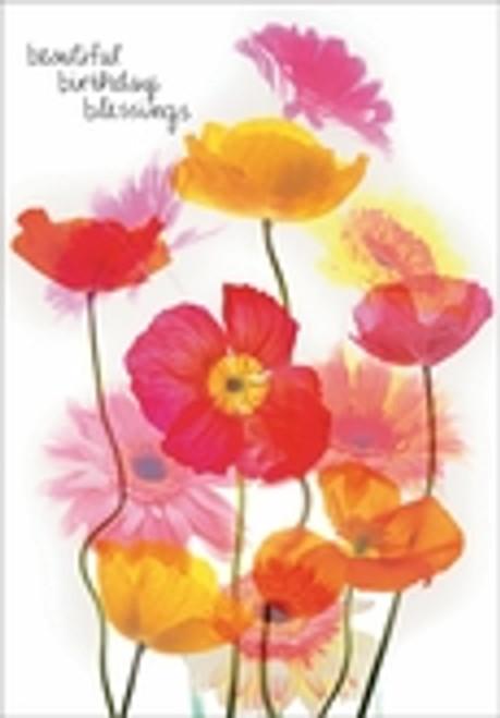 Birthday Card - Beautiful Birthday Blessings