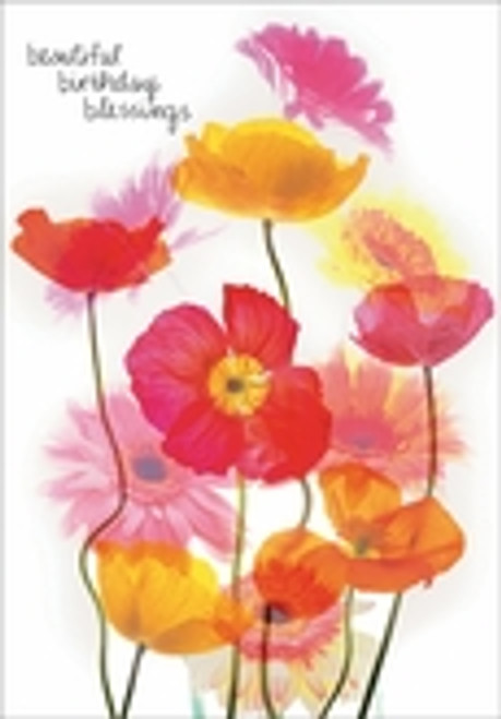 Birthday Card - Beautiful Birthday Blessings