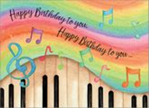 Birthday Card - Happy Birthday to You