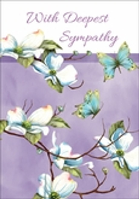 Sympathy Card - With Deepest Sympathy