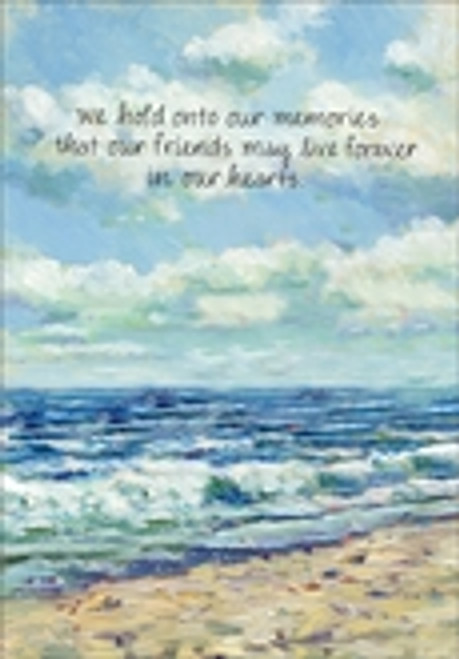 Sympathy Card - We Hold Onto Our Memories
