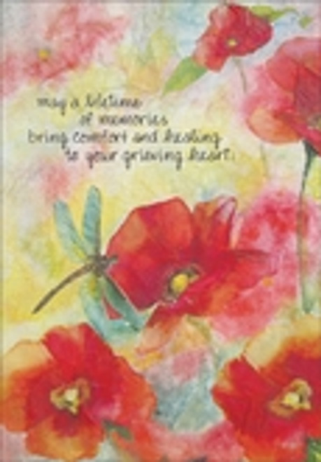 Sympathy Card - May a Lifetime of Memories Bring