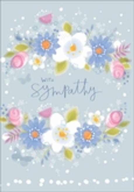 Sympathy Card - With Sympathy