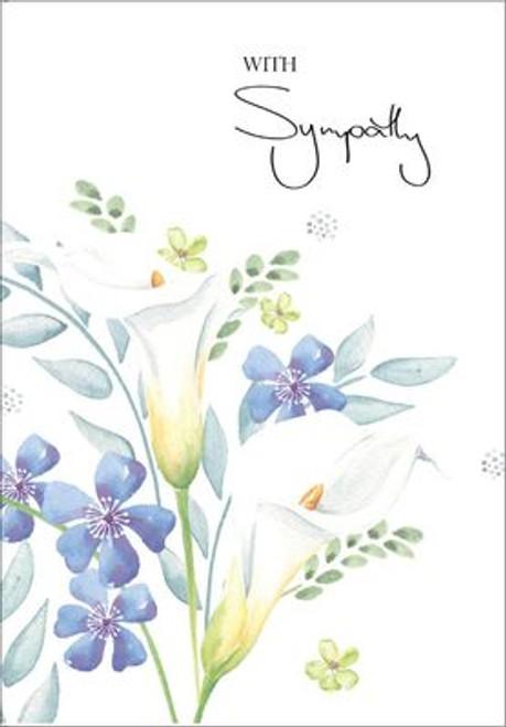 Sympathy Card   With Sympathy