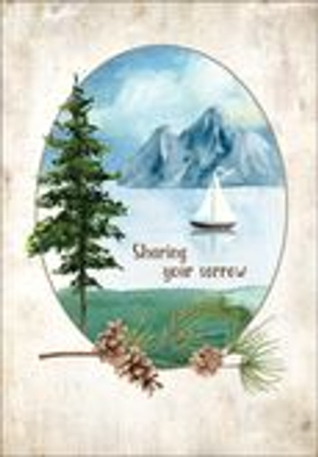 Sympathy Card - Sharing Your Sorrow
