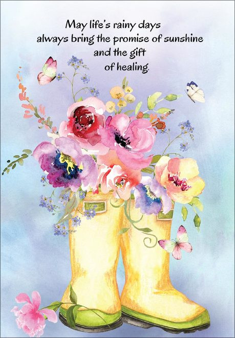 Sympathy Card - May Life's Rainy Days