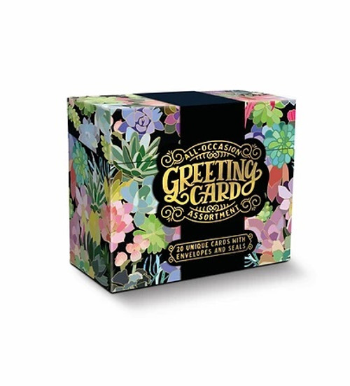All Occasion Greeting Card Assortment - Succulent Paradise