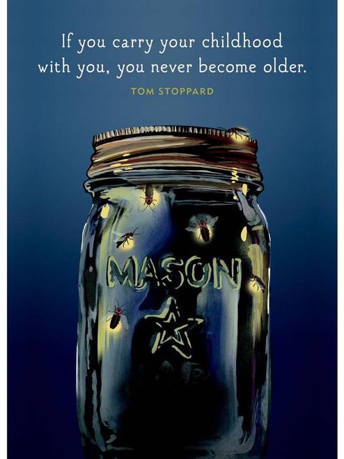 Birthday Card - Mason Jars