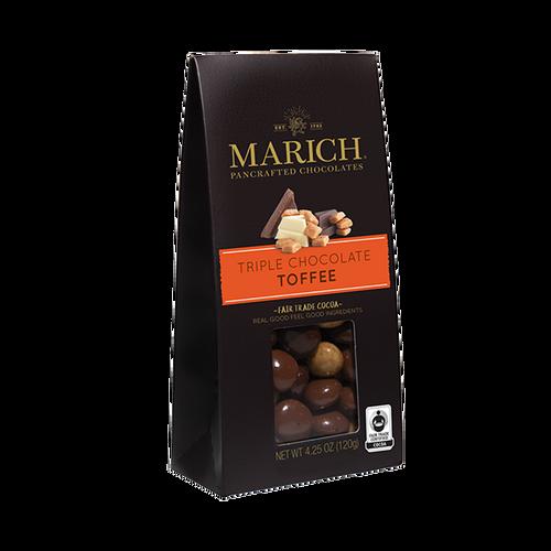 Triple Chocolate Toffee 4.25oz.