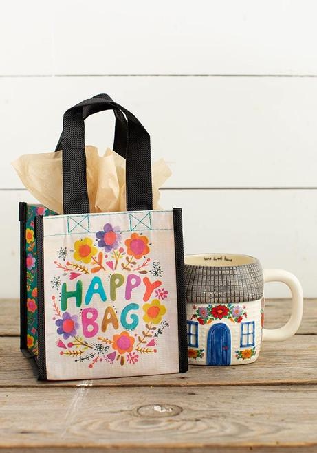 Happy Bag Small Multi Colored Floral