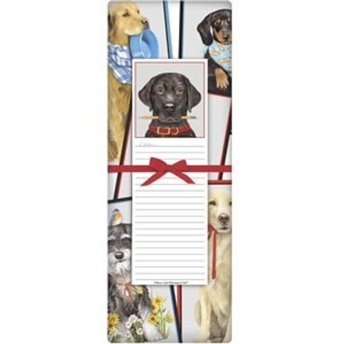 Everyday Black Lab Notepad Set