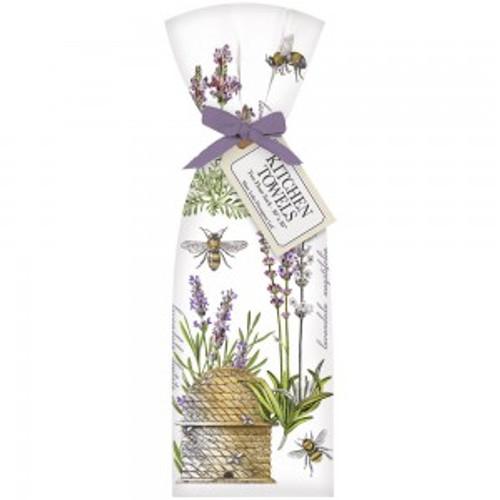 Botanical Lavendar Towel Set