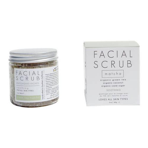 Facial Sugar Scrub - Green Tea Matcha 5oz.