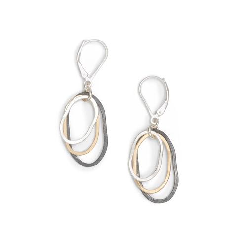 Freshie & Zero Mixed Flame Earrings