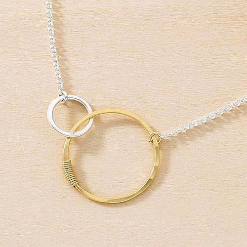 Freshie & Zero Love Necklace Sterling Silver 18""