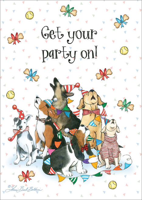 Birthday Card - Get Your Party On