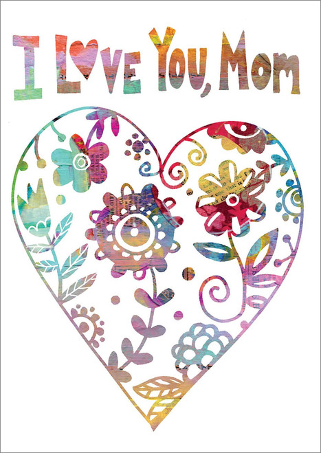 Birthday Card - I Love You Mom