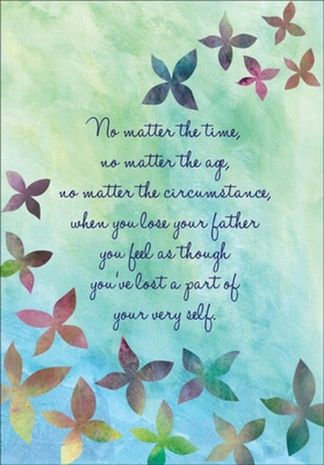 Sympathy Card - No Matter The Time Father