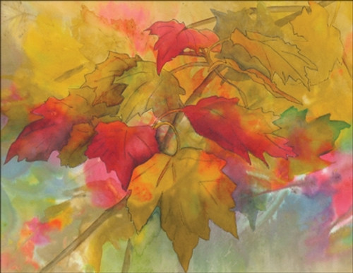 Boxed Note Cards - Autumn Leaves