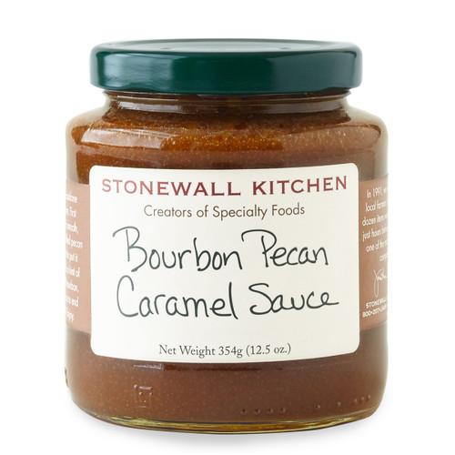 Bourbon Pecan Caramel Sauce 12.5oz